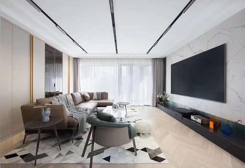 大户型新中式四居卧室装修效果图