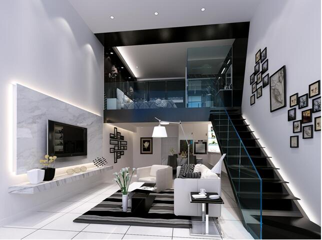 复式公寓精装修